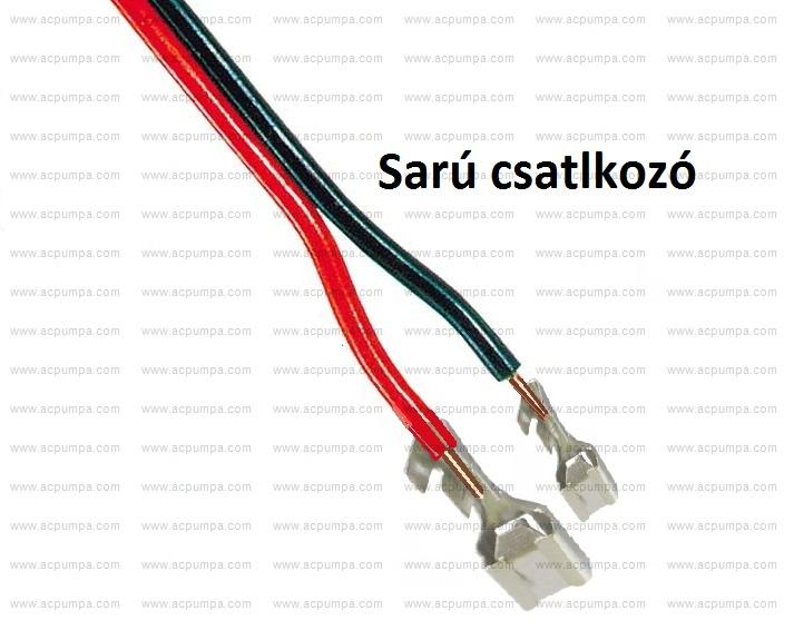 Ac pumpa elektromos csatlakozásai